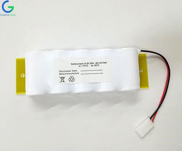 Ni-Cd Battery Pack D4000mAh 6V
