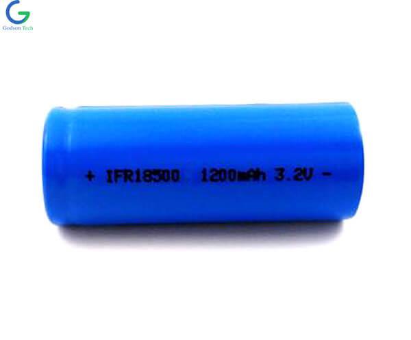 LiFePo4 IFR18500 3.2V 1200mAh