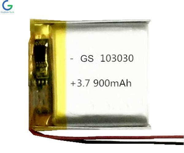 Li-Polymer Battery 103030 900mAh 3.7V