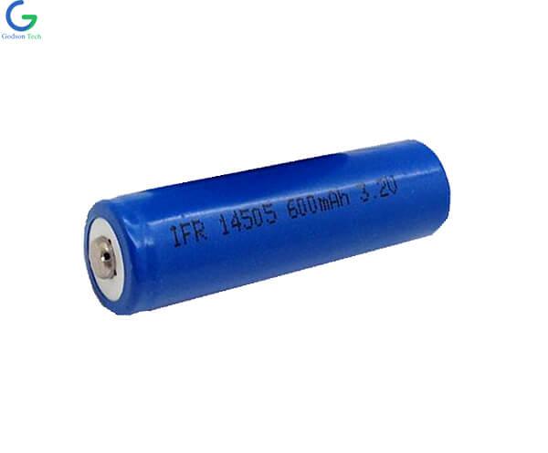 LiFePO4 IFR14505 3.2V 600mAh