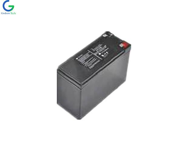 LiFePO4 Battery Pack SLA Casing IFR26650 12.8V 6.6Ah
