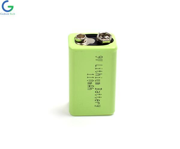 9V 110mAh Lithium Battery
