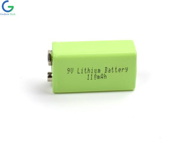 9V 110mAh Lithium Battery with USB