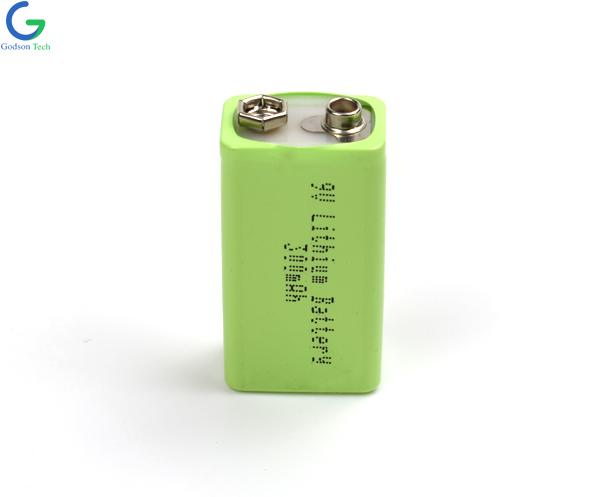9V 300mAh Lithium Battery with USB