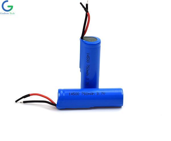 Lithium Battery AA14500 750mAh 3.7V