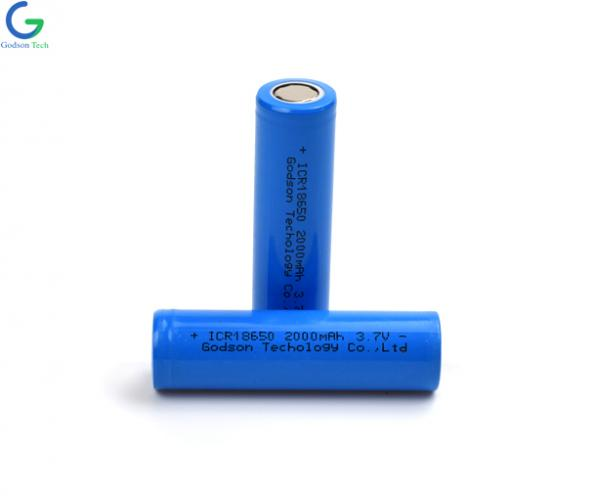 Lithium Battery ICR18650 2000mAh 3.7V