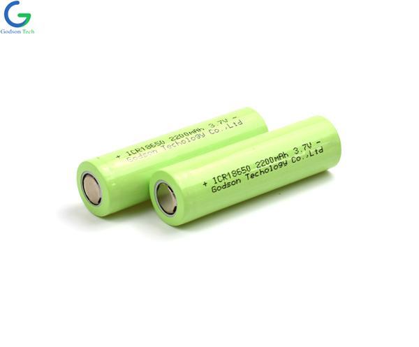 Lithium Battery ICR18650 2200mAh 3.7V