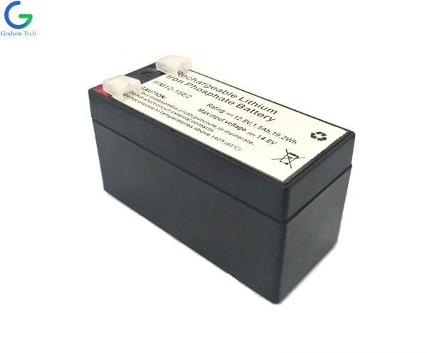 LiFePO4 Battery SLA Casing IFR18650 12.8V 1.5Ah