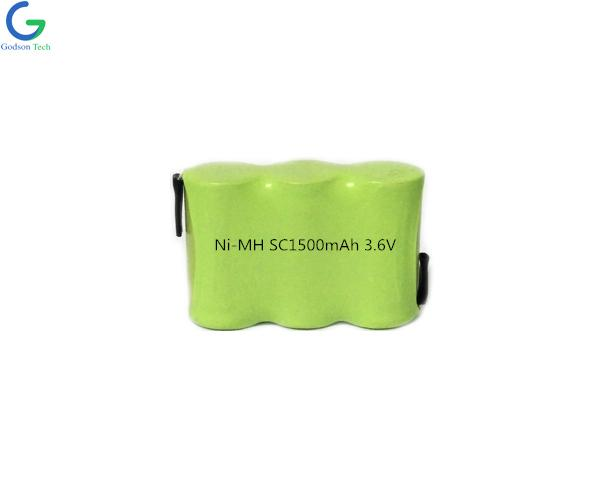 Ni-MH Battery SC1500mAh 3.6V