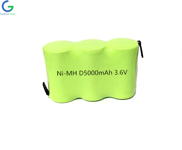 Ni-MH Battery D5000mAh 3.6V