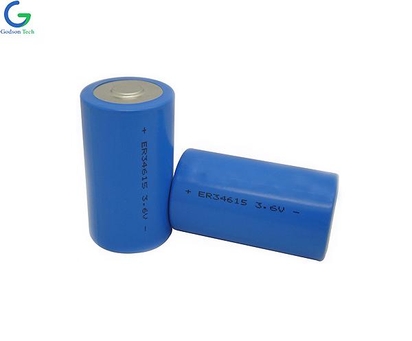 LiSOCL2 Battery ER34615 3.6V