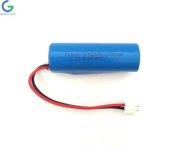 LiFePO4 IFR22650 2000mAh 3.2V