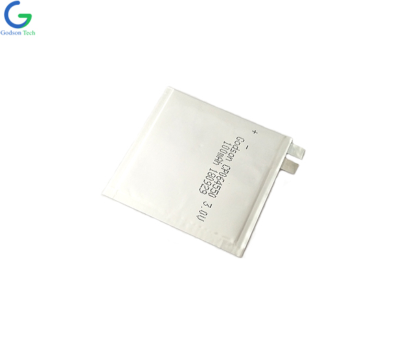 Ultra Thin Battery 064550 100mAh 3.7V