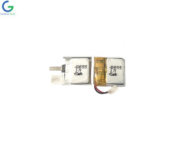 Lithium Polymer Battery 451515 55mAh 3.7V