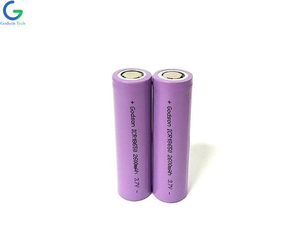 Lithium Battery ICR18650 2600mAh 3.7V