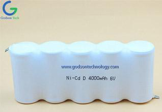 What is the service life of Ni-Cd Battery?