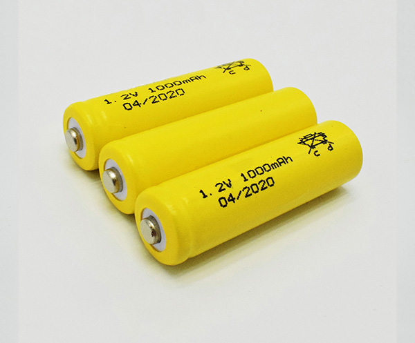 Ni-Cd Battery Cell AA 1000mAh 1.2V