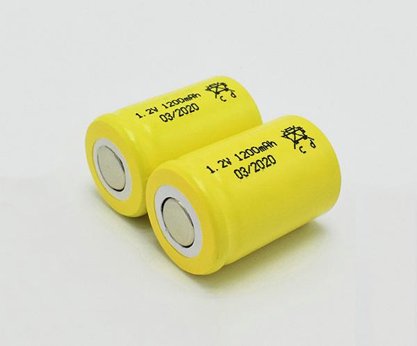Ni-Cd Battery Cell 1200mAh 1.2V