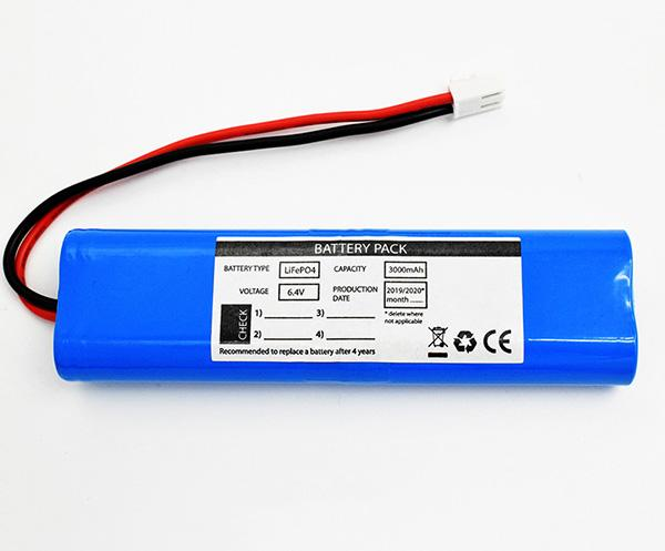 LiFePO4 Packs 3000mAh 6.4V