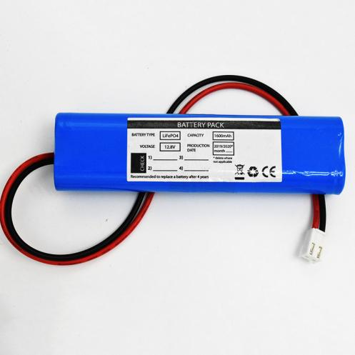 LiFePO4 Packs 1600mAh 12.8V