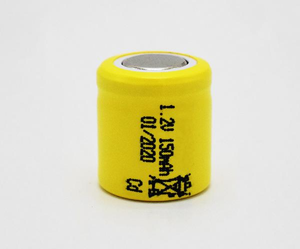 Ni-Cd Battery Cell 150mAh 1.2V