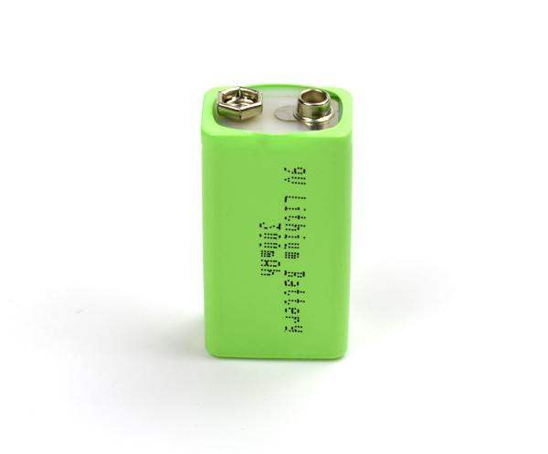 ​9V 300mAh Lithium Battery with USB