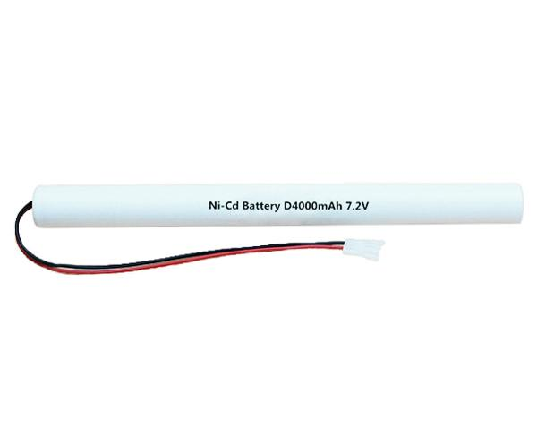 Ni-Cd Battery Pack D4000mAh 7.2V Stick