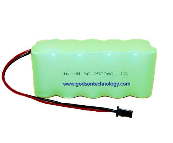 Ni-MH Battery SC2500mAh 12V